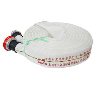 25-65-20有衬里消防水带聚氨酯涤纶纱